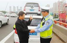 劳动节假期不放假 西安交警出动警力1.22万人次