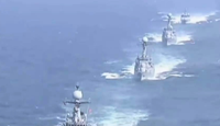 美韩大军演航母核潜艇战机群逼近半岛,朝鲜多个导弹发射台异动!