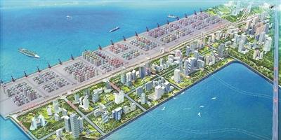 深圳首條海底隧道開建