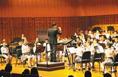 """""""我们都是追梦人""""主题交响管乐音乐会举办"""