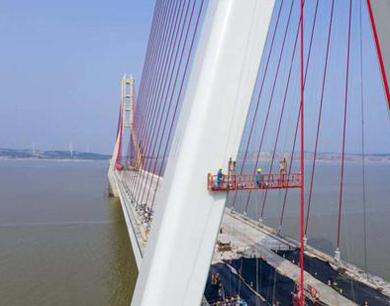 都九高速鄱阳湖二桥拟6月完工