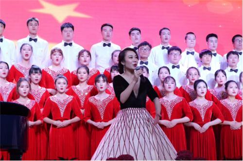 """合肥财经职业学院""""青春 为祖国歌唱""""网络拉歌活动"""