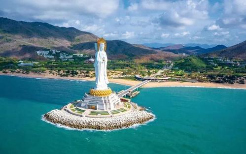 海南三亚南山文化旅游度假区引客来 国润天地传承历史文化及风土人情