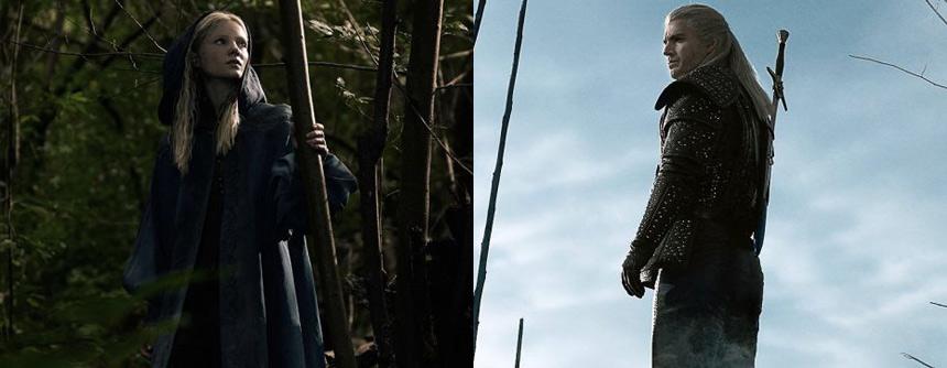 《巫师》真人剧海报公开 白狼、叶奈法剧照曝光