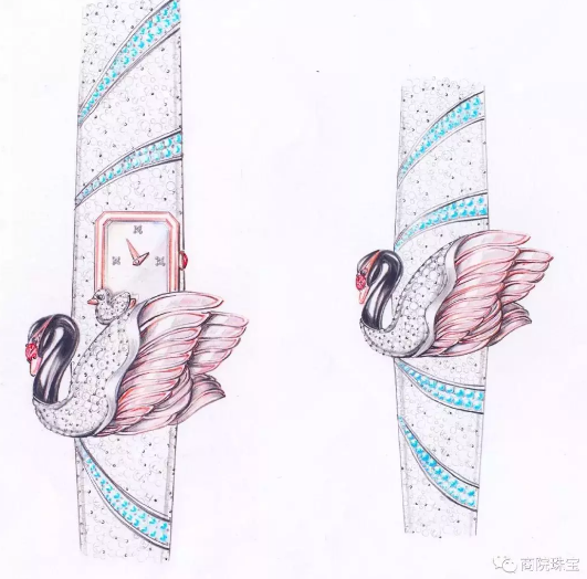 陕西国际商贸学院产物设计(珠宝首饰设