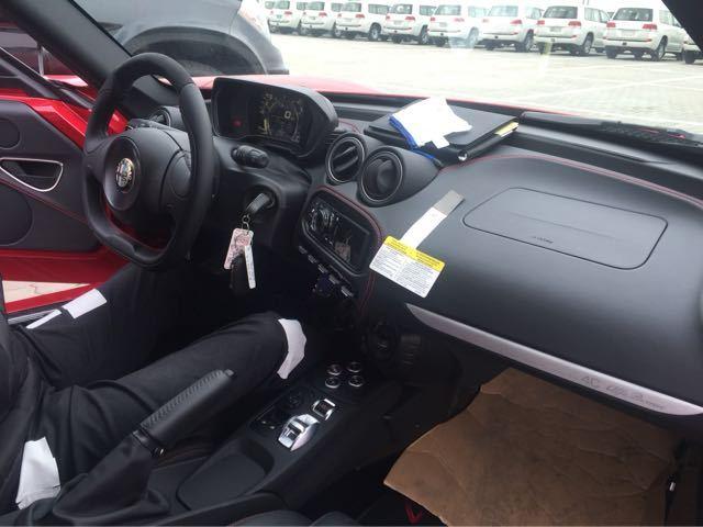 16款阿尔法罗密欧报价美规版罗密欧4C提车价图片