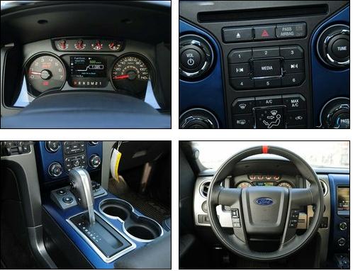 2016款福特猛禽f150中控台部分