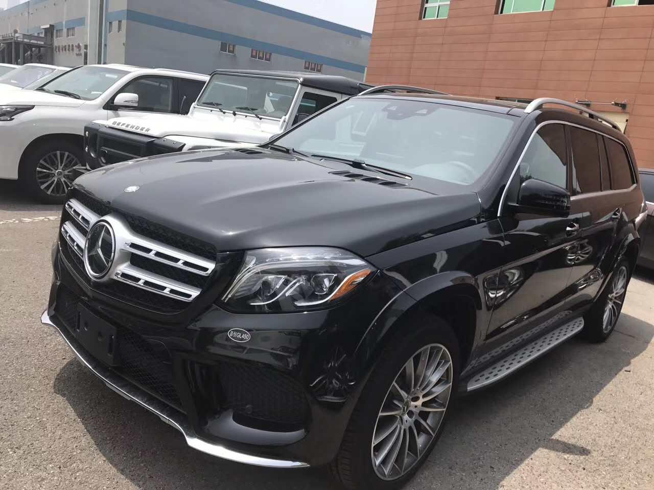 17款奔驰GLS450 百万豪驾天津九月钜惠现车销售可分期