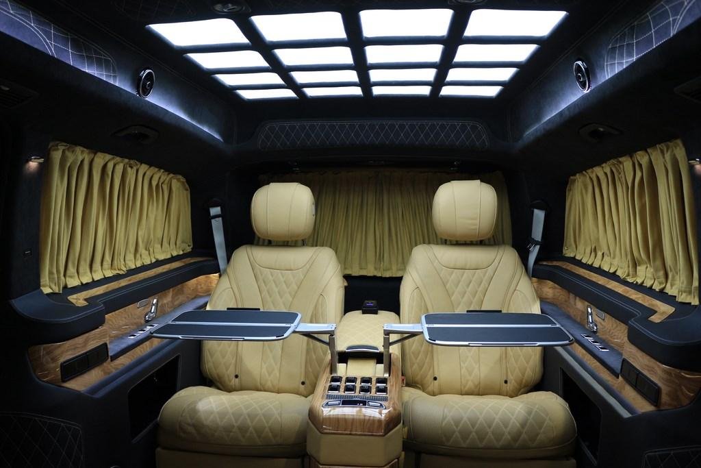 奔驰v260l改装奔驰v级商务车配置及价格15088779054