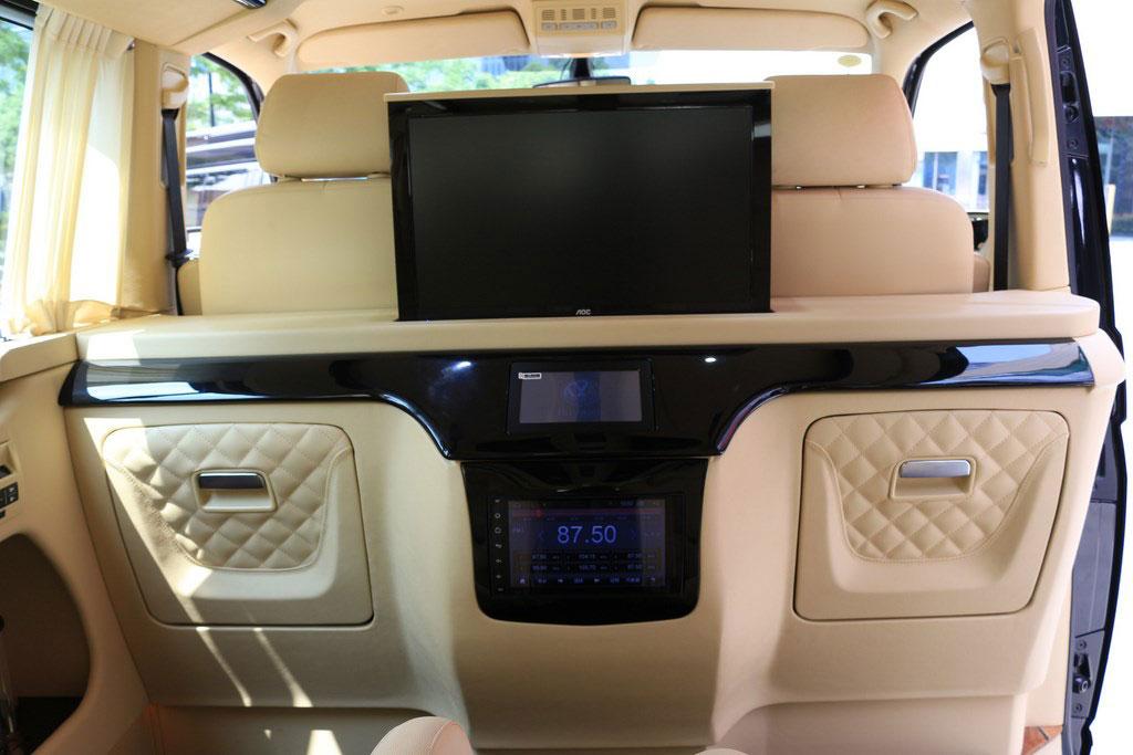 杭州奔驰v260高顶半隔断7座改装商务车优惠房车e家 高经理 :19967484301