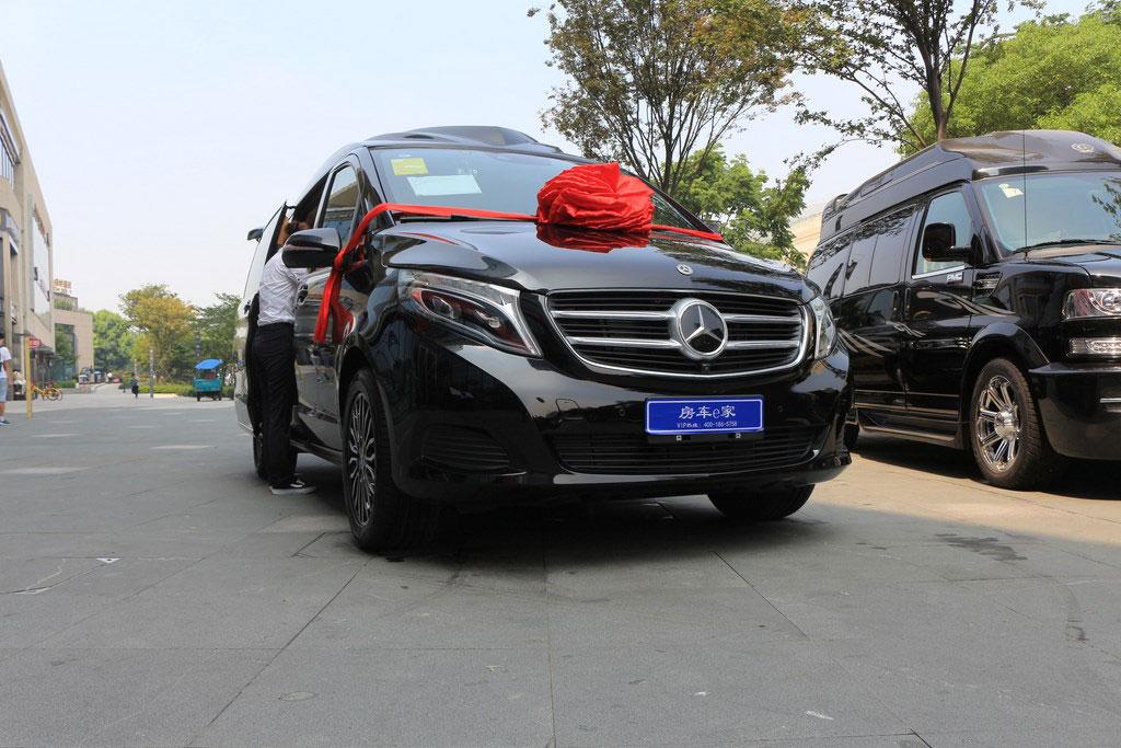 浙江丽水奔驰v260商务车哪里买4s店地址 电话:15088779054