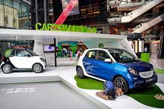 戴姆勒Car2Share进驻公共型商业中心
