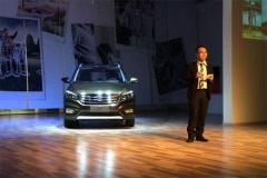 凌轩正式首发亮相 长安汽车首款MPV