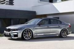 从此M有四驱?全新M5效果图曝光,预计9月法兰克福车展发布