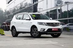 吉利远景SUV新车申报图 增1.4T发动机
