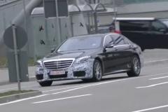 全新奔驰AMG S63谍照 或纽约车展首发