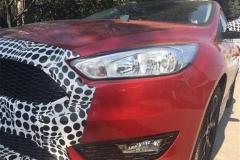 福特新款福克斯新车型谍照 外观细节调整