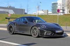 新款保时捷911 GT3 RS谍照 或9月发布
