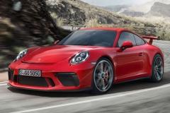 2018款保时捷911 GT3渲染图 更显犀利