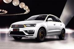 众泰SR7-GAL预售39.99万元 讲究奢华内涵
