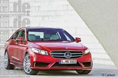 奔驰新E级后年3月发布 标配9速+混动