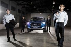 上汽大通首款SUV D90造型细节曝光 预计9月上市