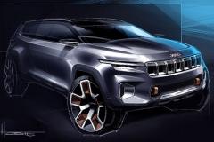 Jeep全新概念车设计图 上海车展亮相