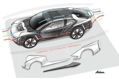 观致超级电动概念车Model K-EV即将来袭