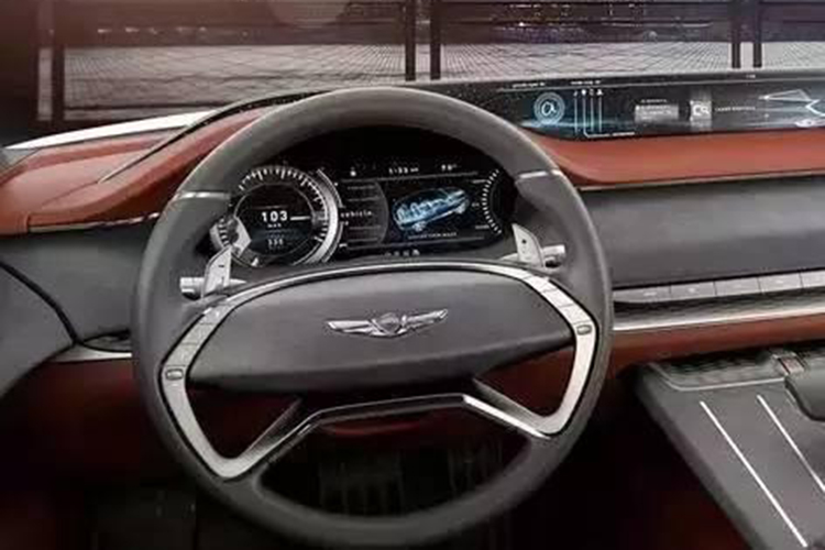 现代旗下高端品牌发布概念车 搭氢燃料电池