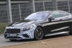 全新奔驰AMG S63 Coupe谍照 或明年推出