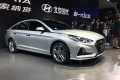 2017上海车展:新款索纳塔九正式发布