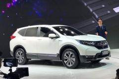2017上海车展:国产全新CR-V正式亮相
