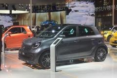 2017上海车展:smart forfour BRABUS