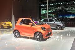 2017上海车展:smart fortwo BRABUS