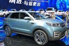 2017上海车展:长安汽车CS55正式发布
