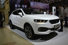 2017上海车展:WEY品牌VV5首次亮相