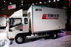 2017上海车展:江淮全能卡车首发上市