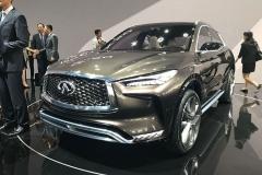 2017上海车展:英菲尼迪QX50概念车