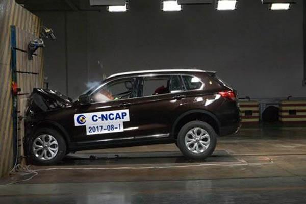 2017年第一批C-NCAP评价车型结果:汉腾X7垫底