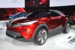 进口丰田小型SUV C-HR将于2018年上市