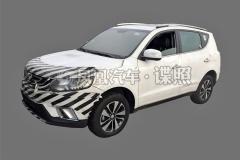 吉利远景SUV新车型首曝 搭载1.4T+6MT