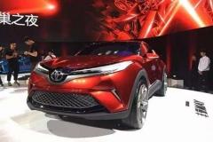 丰田C-HR明年进入国内市场 外观有细微改动