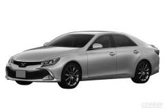 新丰田锐志国内专利申报图 沿海外版设计