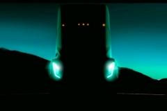 特斯拉电动卡车预告图  年底亮相