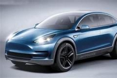 特斯拉Model Y将采用鹰翼门 2019年下线