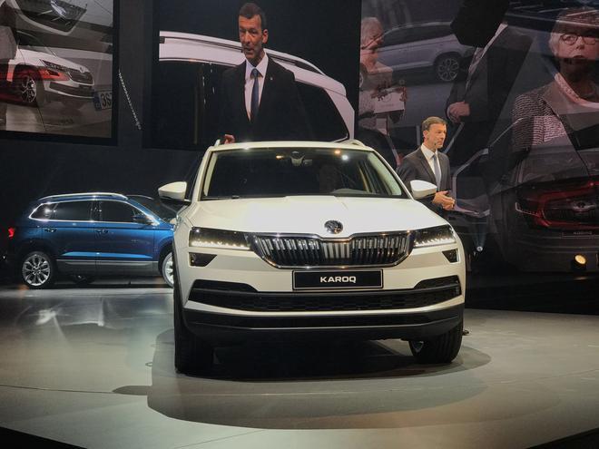 斯柯达全新SUV年底国产,外观科幻或15万起,CR-V要小心