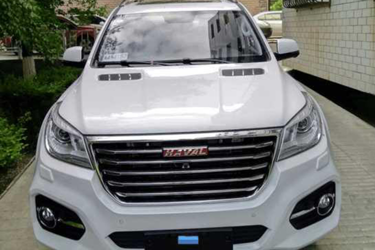 新疆首台新款哈弗H9提车 秒杀汉兰达几条街