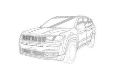 Jeep全新7座SUV专利曝光 或将于2019年亮相