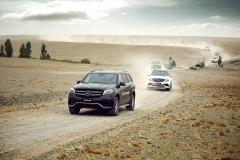 奔驰AMG沙漠越野体验 挑战蛮荒热情