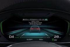 奥迪A8内饰预告片发布 主打自动化